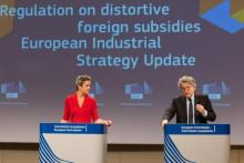 Présentation par la commission européenne des nouvelles règles sur les subventions étrangères