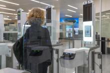 controle a l'aeroport