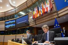 Vote du parlement européen sur l'accord commercial post brexit